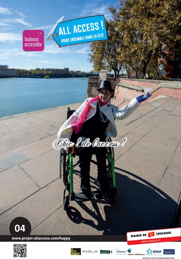 Image représentant le slogan 'Chic, de l'access!'