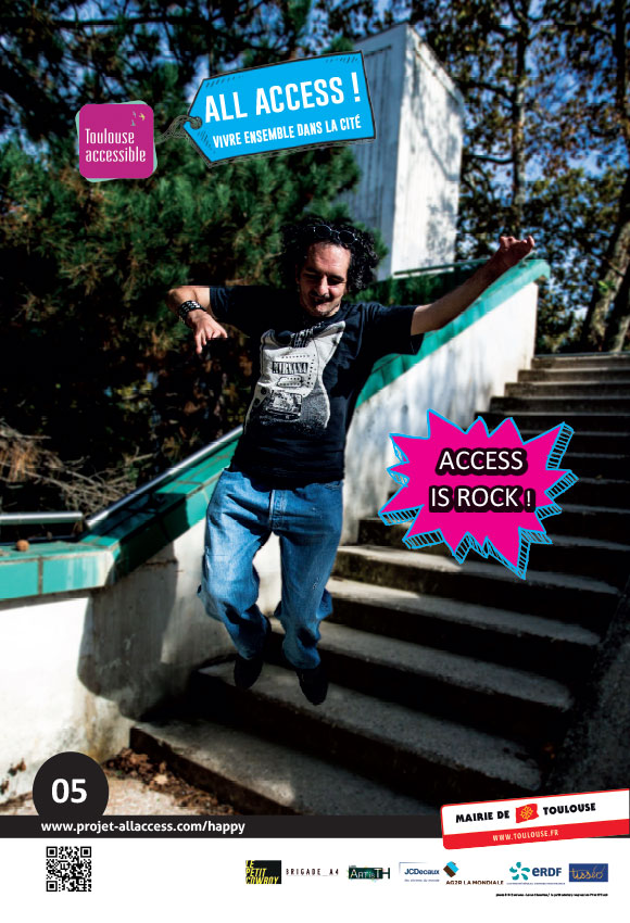 Image représentant le slogan 'Access is Rock!'