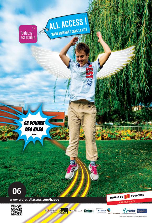 Image représentant le slogan 'Se donner des ailes'