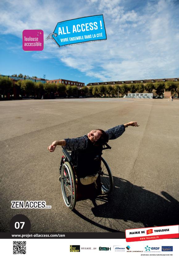 Image représentant le slogan 'Zen Access'