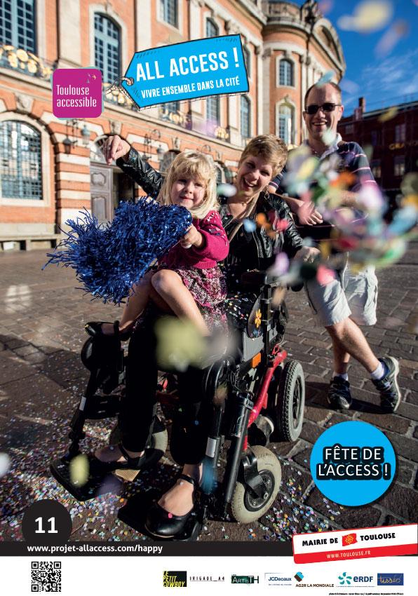 Image illustrant le slogan 'Fête de l'Access!'