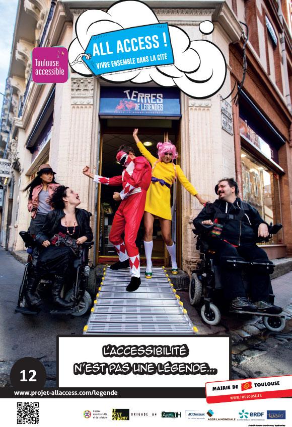 Image représentant l'affirmation 'L'accessibilité n'est pas une légende'